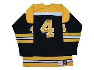 """Bobby Orr Boston Bruins Signed Mitchell & Ness Jersey with """"HOF-79"""" Inscription"""
