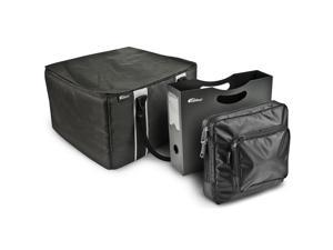 File Tote with Hanging File Holder and Tablet Case
