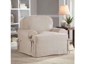 Serta Relaxed Fit Cotton Duck Slipcover for T-Chair