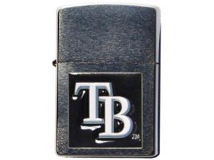 MLB Large Emblem Zippo Lighter - Tampa Bay Rays