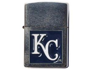 MLB Large Emblem Zippo Lighter - Kansas City Royals