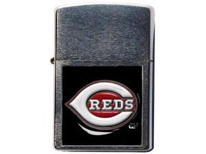 MLB Large Emblem Zippo Lighter - Cincinnati Reds