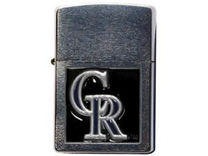 MLB Large Emblem Zippo Lighter - Colorado Rockies