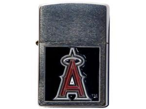 MLB Large Emblem Zippo Lighter - Los Angeles Angels of Anaheim