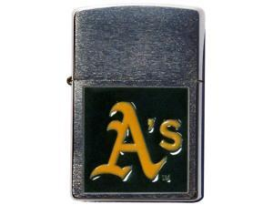 MLB Large Emblem Zippo Lighter - Oakland Athletics