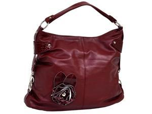 Crisanta Croco Embossed Faux Leather Handbag
