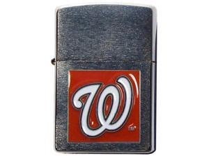 MLB Large Emblem Zippo Lighter - Washington Nationals