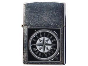 MLB Large Emblem Zippo Lighter - Seattle Mariners