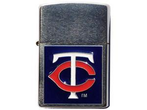 MLB Large Emblem Zippo Lighter - Minnesota Twins