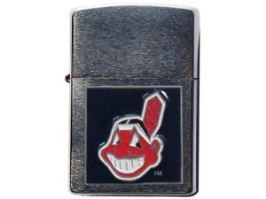 MLB Large Emblem Zippo Lighter - Cleveland Indians