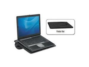 Fellowes Mfg. Co. FEL8030401 Laptop Riser- w-Cooling Vent- 13-.19in.x11-.19in.x4in.- Black Pearl