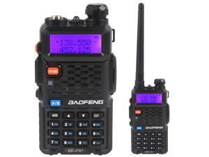 BaoFeng BF-F8+ Professional Walkie Talkie 5W 128Channel  UHF 400-520MHz & VHF 136-174MHz DTMF Two-Way Radio Free Earpiece  1800mAh 50 CTCSS/105 DCS