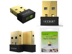 EDUP Mini 150Mbps USB Wireless N WiFi Lan Adapter Dongle High Signal IEEE 802.11n/g/b  for Networking Dial-up Fax LAN access PC