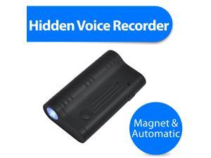 KingNeed Q5 Digital Audio Voice Recorder/spy recorder  with Voice Activated/ Strong Magnet/ 8GB Memory/ 60 Working Days/ Under Driver Seat as Car Audio Black Box