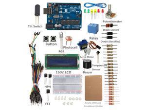 SunFounder Project Starter Kit For Arduino UNO R3 Mega2560 Mega328 Nano (with UNO R3)