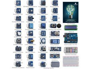 SunFounder 37 modules UNO R3 Sensor Kit V2.0 for Arduino UNO R3 Mega2560 Mega328 Nano