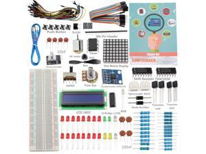 SunFounder Project Super Starter Kit for Arduino UNO R3 Mega2560 Mega328 Nano-OEM