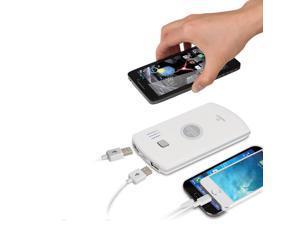 Naztech PB2800qi 2800mAh Qi Wireless Power Bank White
