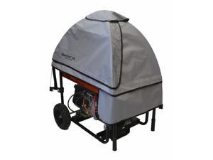 GenTent 10k Universal Fit Wet Weather Safety Canopy for Portable Generators - Assembled in USA - GreySkies Color