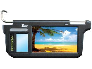 "Tview Tivew 9"" Sunvisor Monitor Driver And Passenger Side Black  17.50in. x 16.50in. x 2.00in."