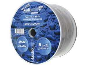 Audiopipe 8 Ga. Marine Grade Power Cable 250 Ft. Roll MPC8250C