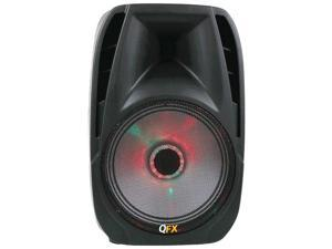 "Qfx Pbx-71100btl 10"" Portable Bluetooth(r) Party Speaker  14.75in. x 13.75in. x 22.50in."