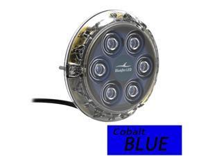 Bluefin Led Piranha P6 Nitro Blue Sm Underwater Light 12v