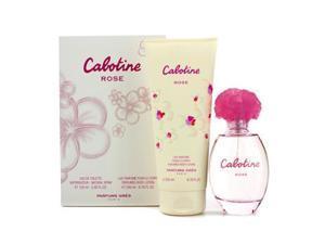 Gres Cabotine Rose Coffret: Eau De Toilette Spray 100ml/3.4oz + Perfumed Body Lotion 200ml/6.76oz For Women  2pcs