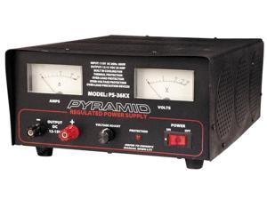 Pyramid Power Supply Pyramid 35 Amp Fully Regulated  16.00in. x 12.00in. x 7.00in.