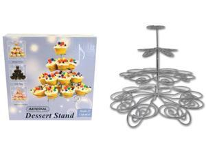 Imperial Stainless Steel Dessert Stand (pack Of 12)
