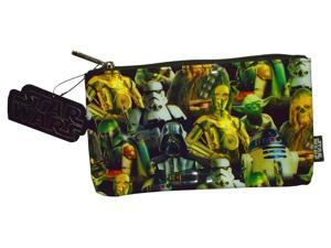 Star Wars Multi Character Zip Coin Change Pencil Case