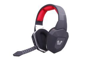 HUHD HW-399 2.4Ghz Optical Wireless Gaming Headset for XBox 360, PS4/3, PC - Noise Cancelling, Detachable Microphone