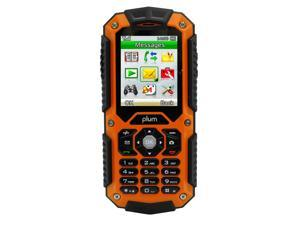 "Plum Ram Unlocked Rugged Cell Phone 2"" Display Water / Shock / Dust Proof IP67 Certified Dual SIM GSM Quad Band"