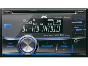 JVC KW-HDR81BT Refurbished Double-Din Bluetooth Car Stereo w/ USB iPod Connection, HD Radio & Pandora Control