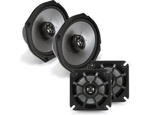Kicker Motorcycle 4 Inch and 6x9 4-ohm Speaker Package