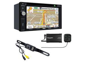Jensen VX7022 Navigation touch-screen and Sirius XM SXV300V1 Tuner with backup camera