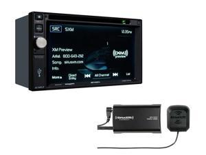 Jensen VX4025 multimedia receiver with Sirius XM SXV300V1 Tuner package