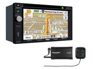 Jensen VX7022 Navigation touch-screen and Sirius XM SXV300V1 Tuner package