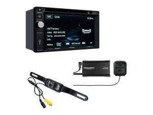 Jensen VX4025 multimedia receiver with Sirius XM SXV300V1 Tuner and included backup camera
