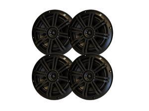 """Kicker Black OEM Replacement Marine 6.5"""" 4O Coaxial speaker Bundle - 4 Speakers"""