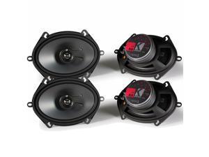 Kicker KS speaker package - Two pairs of Kicker 11KS68 6x8 Inch 2-Way KS Series Coaxial Speakers