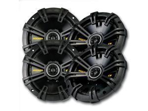 Kicker CS speaker package - Two pairs of Kicker CS Series 6-3/4 Inch Coaxial 40CS674