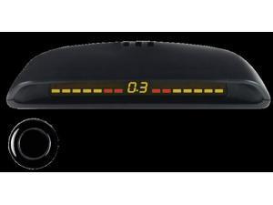 Jensen PSB120 Parking Sensor, 4 Sensor w/Display, Includes Drill Bit