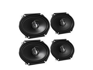 JVC CSJ6820 6x8 J Series 2-Way Bundle