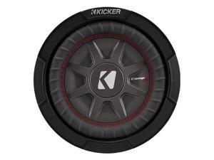 Kicker CompRT8 8-Inch (20cm) Subwoofer, DVC, 2-Ohm, 300W