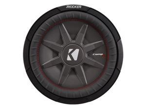 Kicker CompRT12 12-Inch (30cm) Subwoofer, DVC, 2-Ohm, 500W