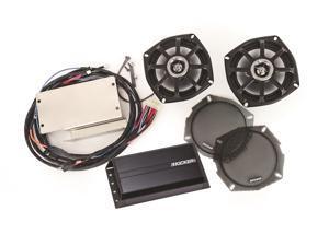 Kicker FKAVV09 Klock Werks Fit Kit Front Speaker/Amplifier Upgrade Kit for 09 & Up Kawasaki Voyager and 11 & Up Vaquero