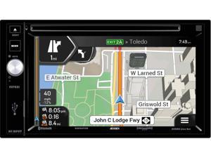 Jensen VX7021 2 DIN Navigation touch-screen