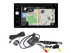VX7021 2-Din Nav DVD with Sirius XM tuner and back up Camera