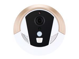 Wireless Remote Mobile Control WIFI 1.0MP Smart Visual Doorbell P2P CMOS Cellphone Home Security Door Bell